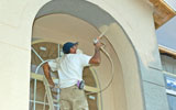 Spraying an Arch